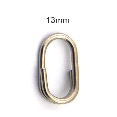 100Pcs Split Rings For Blank Lures Crank Bait Hard Tools 10Mm 12Mm 15Mm-Fishing Split Rings-Bargain Bait Box-12-Bargain Bait Box