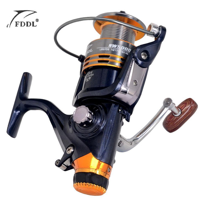 10+1 Bb Bearing Balls 5000/6000 Spinning Reel Hot Sale For Feeder Fishing Reel-Spinning Reels-HD Outdoor Equipment Store-5000 Series-Bargain Bait Box