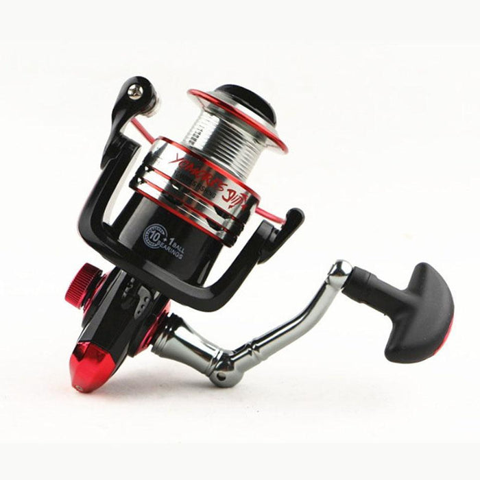 10+1Bb 5.1:1 Quality Spinning Fishing Reel Metal Spool Spinning Reel Metal Front-Spinning Reels-AOLIFE Sporting Store-1000 Series-Bargain Bait Box