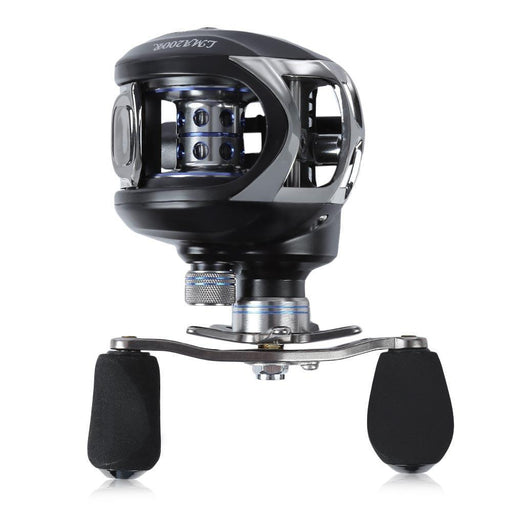 10+1Bb Ball Bearing Baitcasting Fishing Reel 6.3:1 Left Right Hand Bait-Baitcasting Reels-Outl1fe Adventure Store-Crystal Cream-Left Hand-Bargain Bait Box