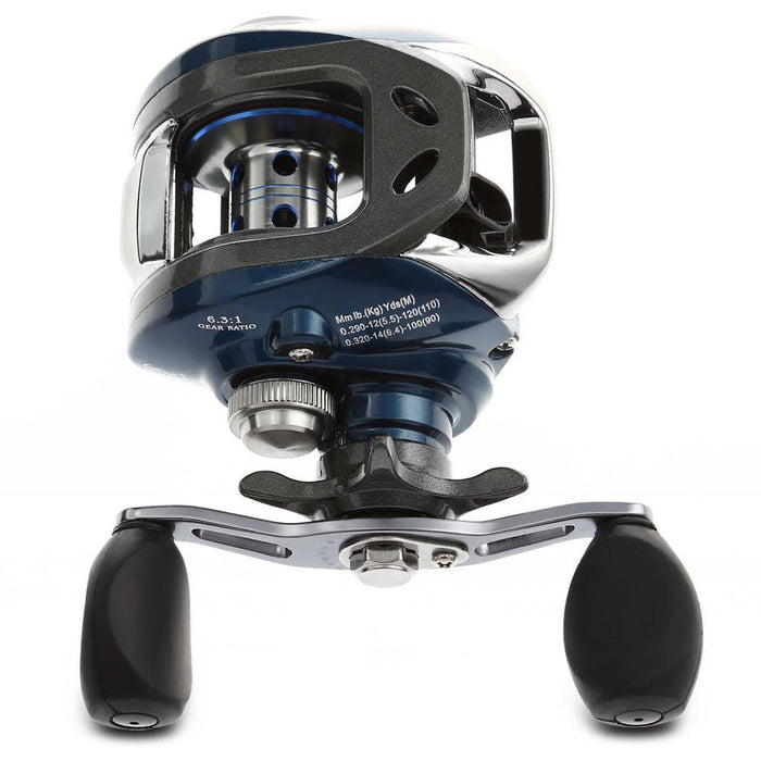 10+1Bb Ball Bearings 6.3:1 Left/Right Hand Bait Casting Fishing Reel Water-Baitcasting Reels-Bike-Lover's Equipment Store-Black-Left hand-Bargain Bait Box