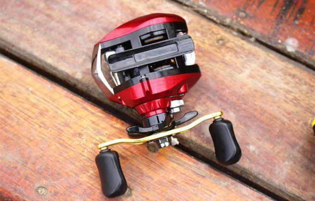 10+1Bb Ball Bearings Left/Right Hand Bait Casting Fishing Reel High Speed-Baitcasting Reels-ArrowShark fishing gear shop Store-2222-left handed-Bargain Bait Box