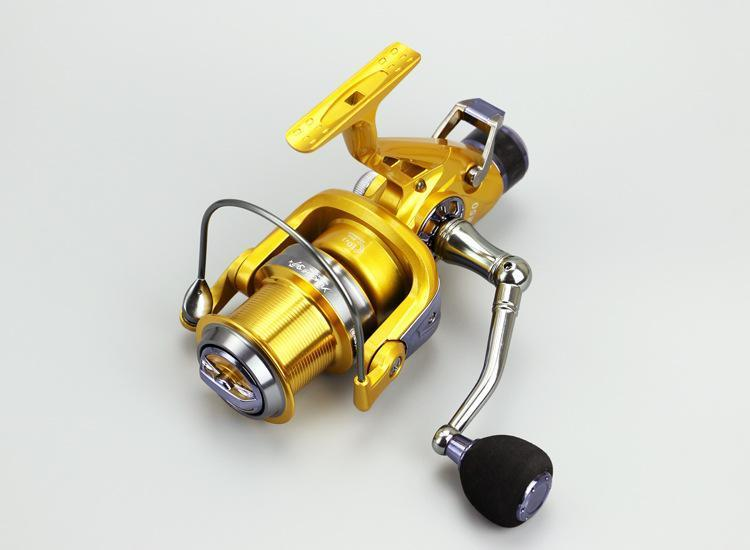 10+1Bb Spinning Cnc Rocker Front Rear Brake Metals Head Wheel Sea Pole Fishing-Spinning Reels-Rosemary shop-KM50-Bargain Bait Box