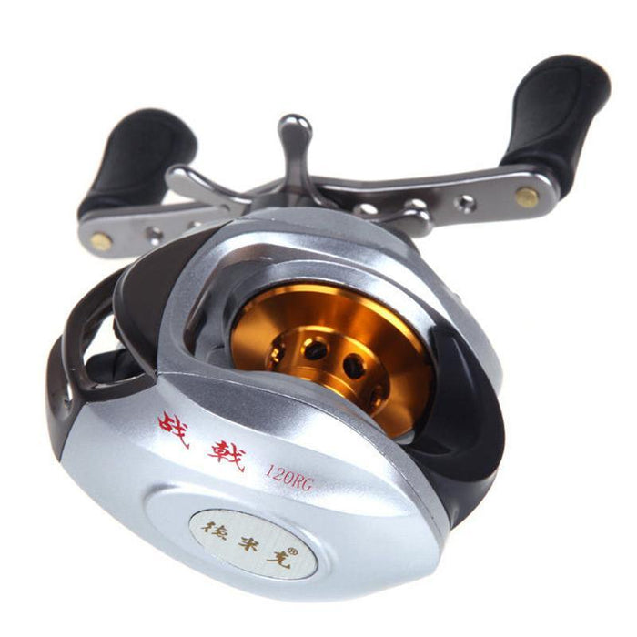 10Bb Ball Bearings 6.3:1 Right Hand Baitcasting Fish Fishing Reel High Speed Uk-Baitcasting Reels-Life Going Keep Riding Store-Bargain Bait Box