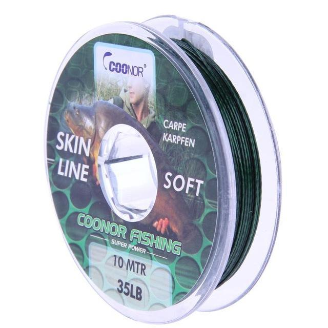 10M 8 Strands Multifilament Fishing Line Weaves Strong Casting Line Pe 8 Braided-gigibaobao-35lb 10m-Bargain Bait Box