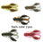 10Pcs Soft Shrimp S Fishing Rubber Bait Jig Silicone For Shad Baits Silicone-Craws-Bargain Bait Box-C6 10PCS-Bargain Bait Box