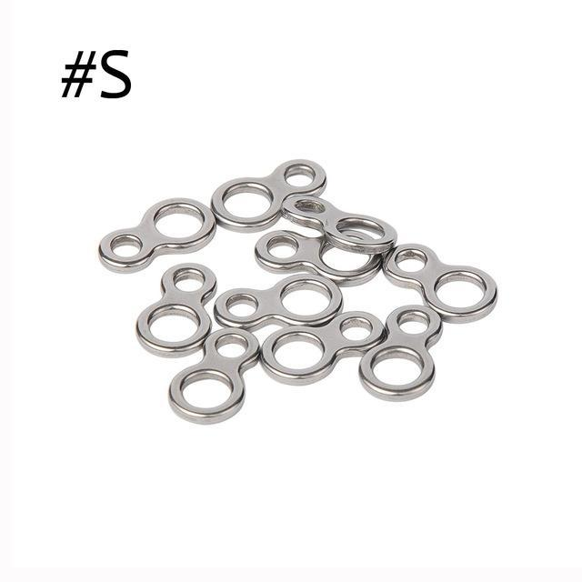 10Pcs Split Rings For Blank Lures Crank Bait Hard Bait Double Ring Lures-Fishing Split Rings-Bargain Bait Box-S-Bargain Bait Box