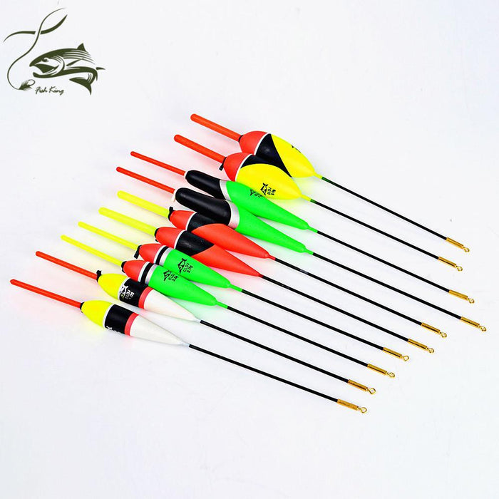 10Pcs/Lot 1G-5G Multi Color Day Night Fishing Float Bobbers With Glow Light-Glow Floats-Bargain Bait Box-3469010-Bargain Bait Box