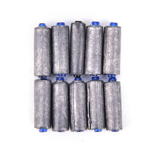 10Pcs/Lot Mini 1G-3G Lead Sheet Strip Lead Sinker Tin Roll Fishing Supplies-Lead Sheet Rolls-Bargain Bait Box-2G-Bargain Bait Box