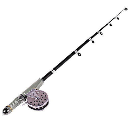 110Cm Ice Fishing Rod Fishing Pole Hand Rod Rocky Mini Portable Carbon Fishing-Ice Fishing Rod & Reel Combos-Bargain Bait Box-Bargain Bait Box