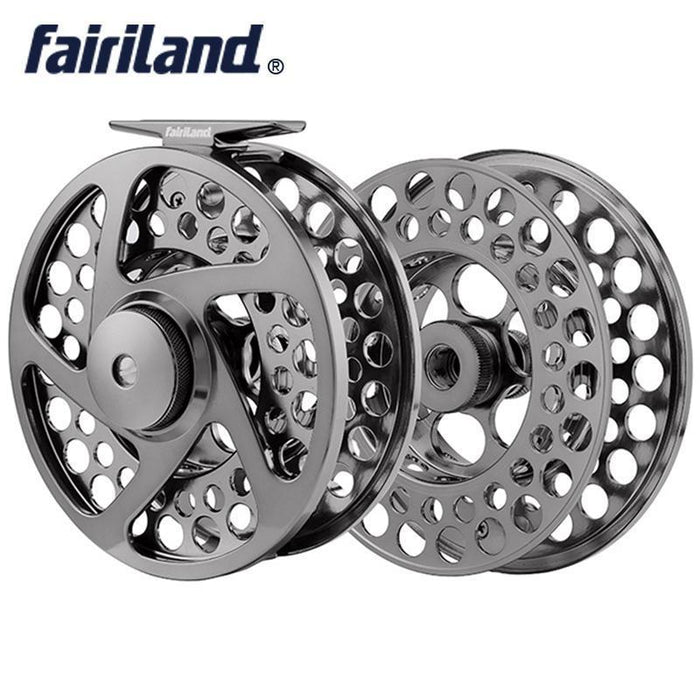 "110Mm4.33"" Fly Reel With Spare Spool 9/11 3Bb Precision Machined Fly Fishing-Fly Fishing Reels-Bargain Bait Box-Style D-3-Other, China-Bargain Bait Box"