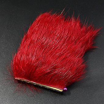 11Colors Fly Fishing Tying Materials Fiber De Pesca Rabbit Zonker Strips Wide-Royal Sissi Franchised Store-claret-Bargain Bait Box