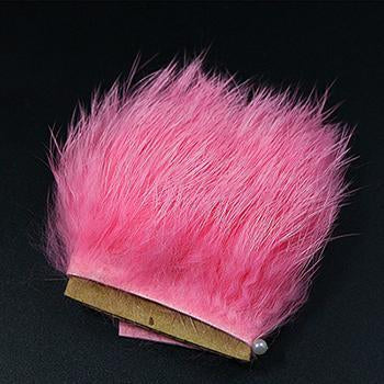11Colors Fly Fishing Tying Materials Fiber De Pesca Rabbit Zonker Strips Wide-Royal Sissi Franchised Store-deep pink-Bargain Bait Box