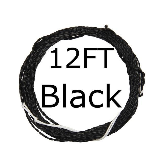 12 / 13Ft Furled Leader Tenkara Fly Fishing Line Polyester Braided Furled Leader-AnglerDream Store-12B-Bargain Bait Box