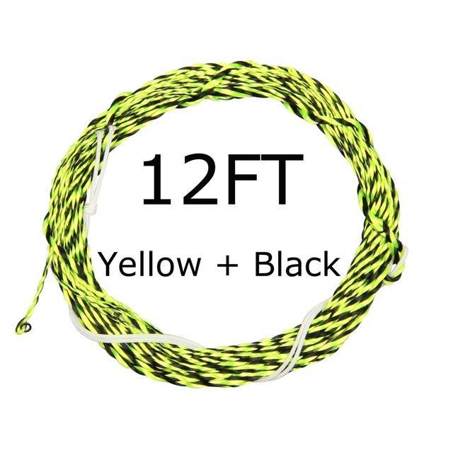 12 / 13Ft Furled Leader Tenkara Fly Fishing Line Polyester Braided Furled Leader-AnglerDream Store-12YB-Bargain Bait Box