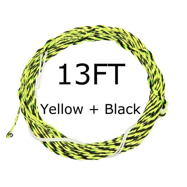12 / 13Ft Furled Leader Tenkara Fly Fishing Line Polyester Braided Furled Leader-AnglerDream Store-13YB-Bargain Bait Box