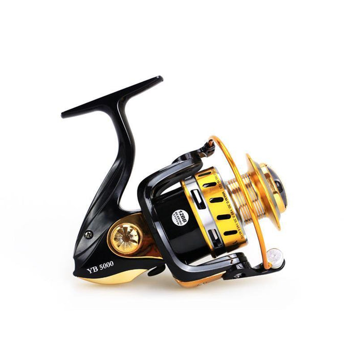 12 Bearing Balls Spinning Reel Fishing Reel 2000-7000 Series 5.5:1 Spinning Reel-Spinning Reels-Sports fishing products-2000 Series-Bargain Bait Box