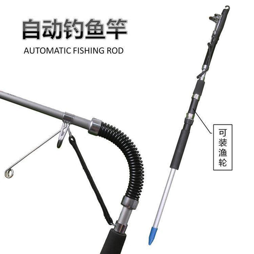 1.2 M 1.4M 1.6M Mini Portable Automatic Fishing Rod (Without Fish Reel)-Automatic Fishing Rods-Shenzhen JS Foryou Chain-1.2M-Bargain Bait Box