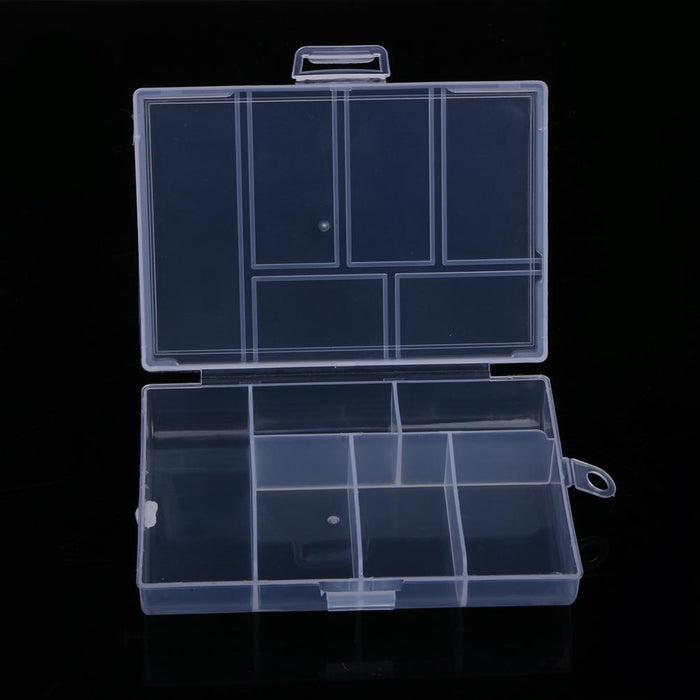 120L Eco-Friendly Fishing Tackle Box Fixable 6 Compartment Pp Plastic Fishing-Compartment Boxes-Bargain Bait Box-Bargain Bait Box