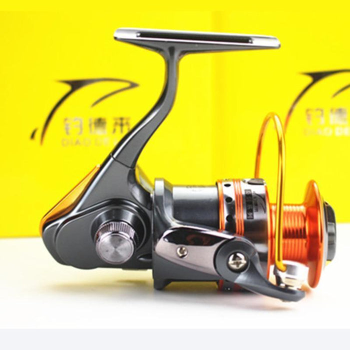 12+1 5.2:1 Gapless All-Metal Body Spinning Fishing Reel Aluminum Spool-Spinning Reels-duo dian Store-Bargain Bait Box