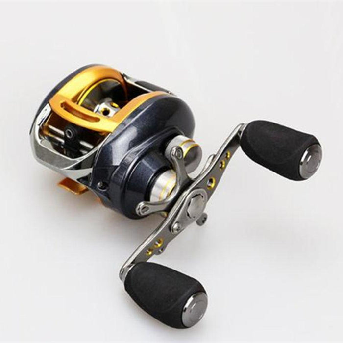 12+1 Ball Bearings Right/Left Hand Baitcasting Reel Fishing Fly High Speed-Baitcasting Reels-AOLIFE Sporting Store-Left-Bargain Bait Box