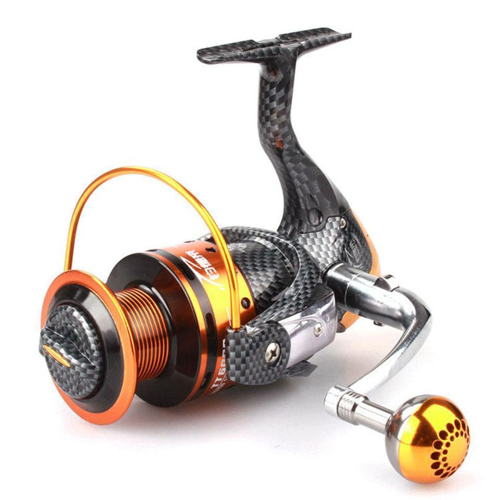 12+1 Bb Ball Bearing 5.2:1 Fishing Wheel Tt1000-7000 Fishing Reels And 5.1:1-Spinning Reels-YPYC Sporting Store-1000 Series-Bargain Bait Box