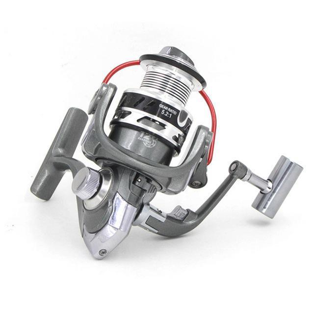 12+1Bb 5.2:1 Spinning Reels 1000 2000 3000 4000 5000 6000 7000 Saltwater Beach-Spinning Reels-duo dian Store-1000 Series-Bargain Bait Box