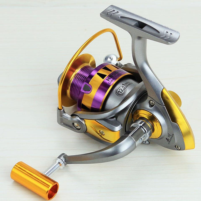 12+1Bb 5.5:1 Spinning Fishing Reel 1000 2000 3000 4000 5000 6000 7000 Series-Spinning Reels-duo dian Store-1000 Series-Bargain Bait Box