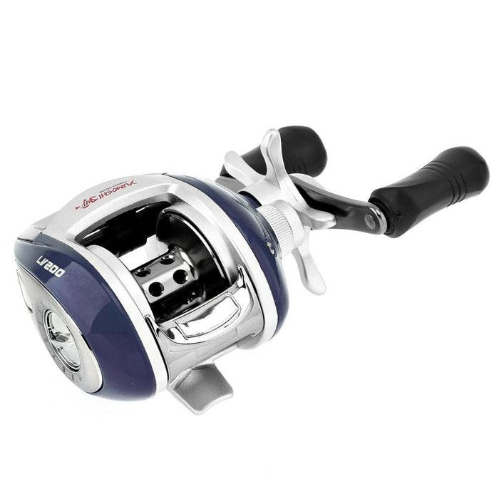 12+1Bb 6.3:1 Gear Ratio Stainless Steel Fishing Baitcasting Reel With Magnetic-Baitcasting Reels-XSport Store-Left Hand-Bargain Bait Box
