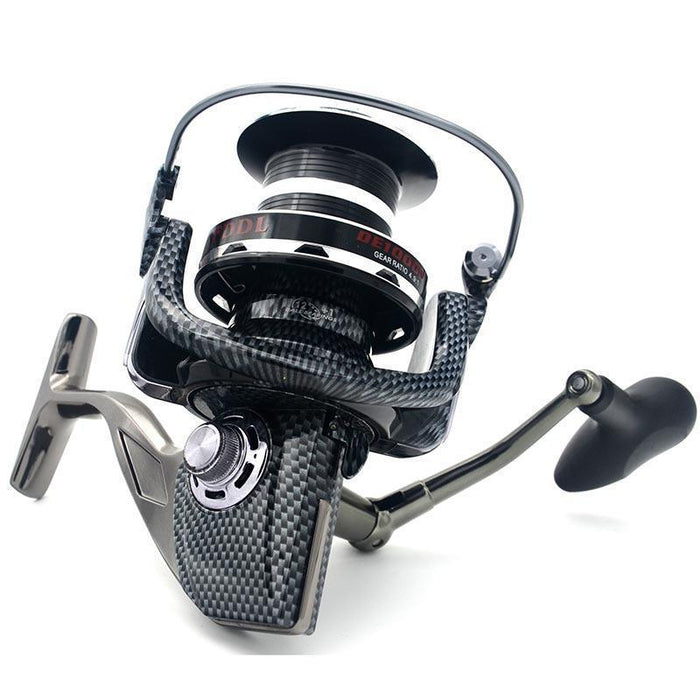 12+1Bb 9000/10000 Fishing Reel The Latest Trend Distant Metal Wheel-Spinning Reels-RedMeet Fishing Store-9000 Series-Bargain Bait Box
