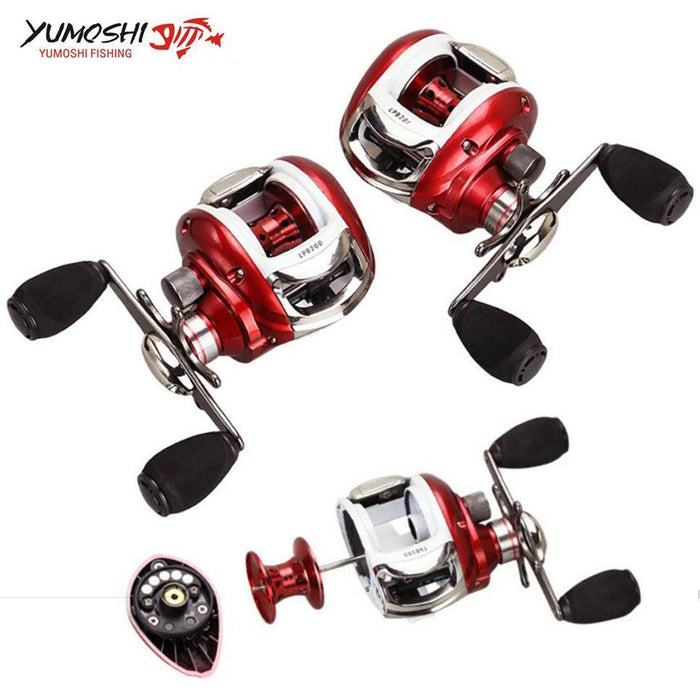 12+1Bb Ball Bearings Left/Right Hand 6.2:1 Fishing Reel Baitcasting Fishing-Baitcasting Reels-HUDA Outdoor Equipment Store-Left-Bargain Bait Box