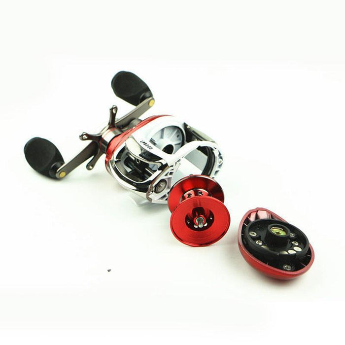 12+1Bb Ball Bearings Right/Left Handle Bait Casting Fishing Reel High Speed-Baitcasting Reels-LooDeel Outdoor Sporting Store-Left-Bargain Bait Box