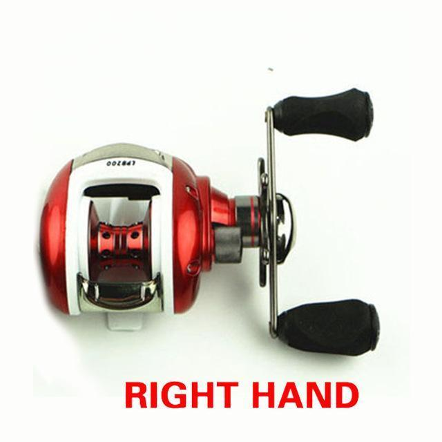 12+1Bb Ball Bearings Right/Left Handle Bait Casting Fishing Reel High Speed-Baitcasting Reels-LooDeel Outdoor Sporting Store-Right-Bargain Bait Box