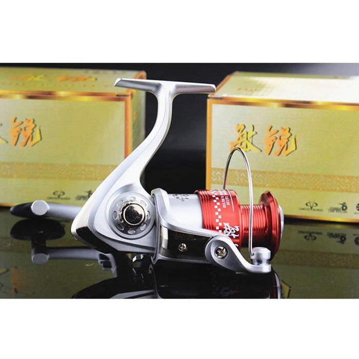 12Bb + 1 Bearing Balls 5.2:1 Metal Line Cup Fishing Reel Mr3000 Series-Spinning Reels-duo dian Store-Bargain Bait Box