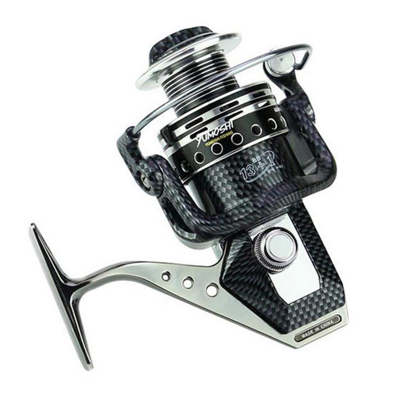 13 + 1Bb Spinning Fishing Reel Professional Metal Left/Right Hand Baitcasting-Spinning Reels-Dynamic Outdoor Store-1000 Series-Bargain Bait Box