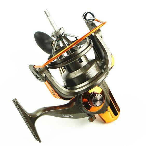 13+1 Bb Big Game Spinning Fishing Reel At 8000 9000 Surf Casting Reels Saltwater-Spinning Reels-GLOBAL WHOLESALING Store-8000 Series-Bargain Bait Box