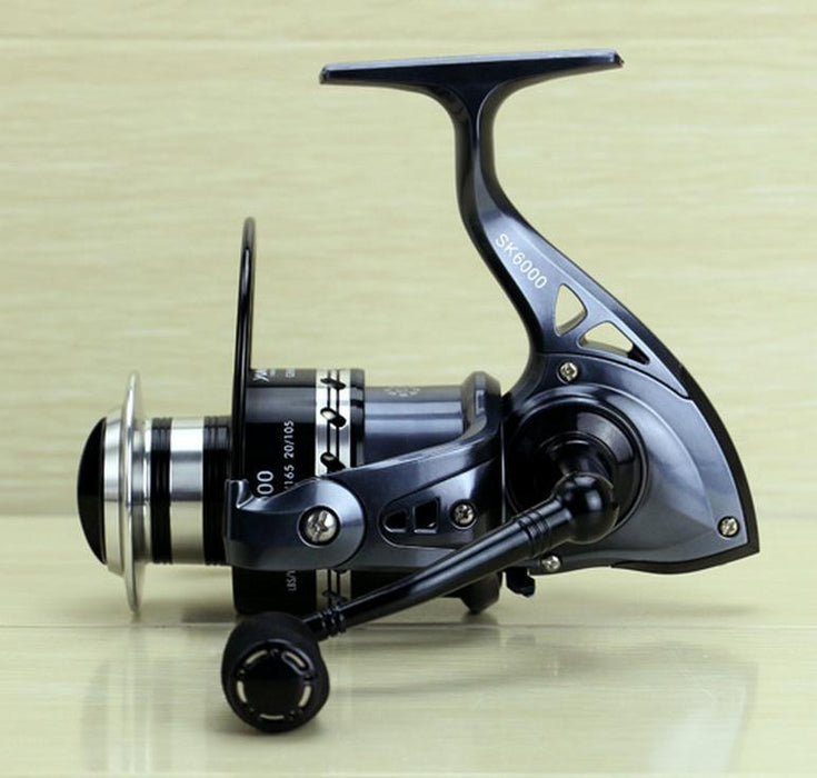 13+1 Bb Spinning Fishing Reel Cnc Machined Handle Eva Knob Sk Reels Yumoshi Dark-Spinning Reels-GLOBAL WHOLESALING Store-2000 Series-Bargain Bait Box
