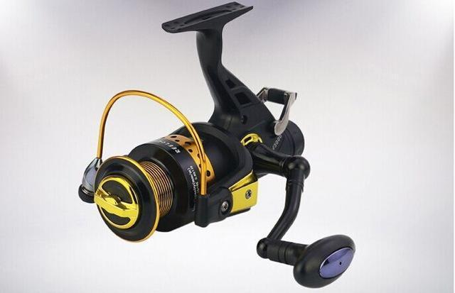 13+1 Bb Spinning Reel Saltwater Double Drag 8Kg Cnc Aluminum Handle Metal Carp-Spinning Reels-ArrowShark fishing gear shop Store-3000 Series-Bargain Bait Box