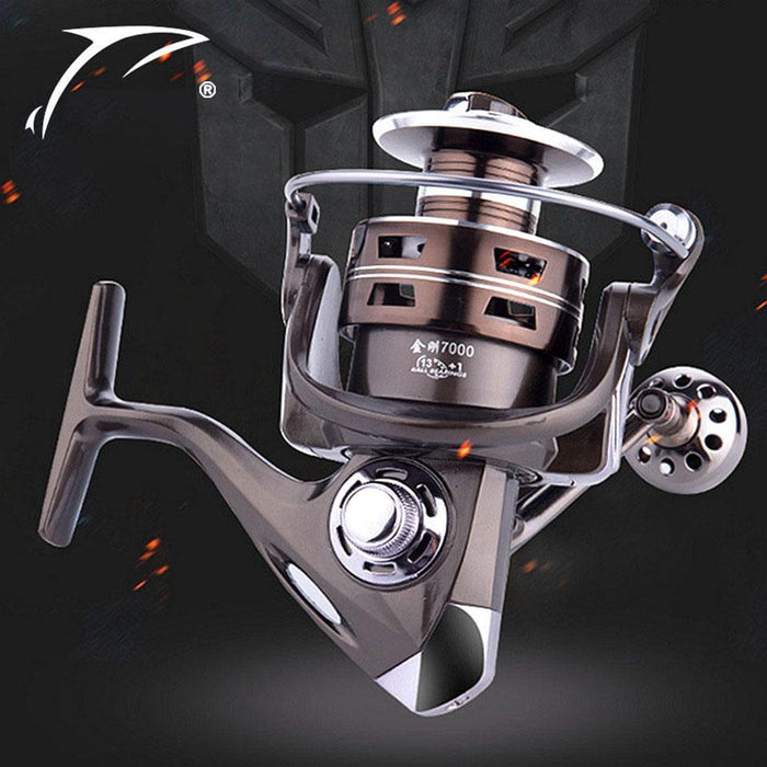 13+1Bb 5.2:1 Aluminum Alloy Fishing Reel Spinning Reel Right Left Hand-Spinning Reels-YPYC Sporting Store-1000 Series-Bargain Bait Box
