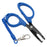 13Cm Pp & Stainless Steel Fishing Pliers Line Cutter Scissors-Fishing Scissors-Bargain Bait Box-Bargain Bait Box