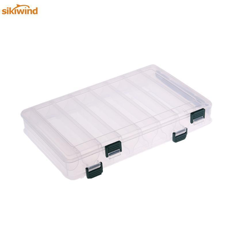 14 Compartments Double Sided Plastic Multifunction Storage Case Fishing Lures-Sikiwind Fishing Store-Bargain Bait Box
