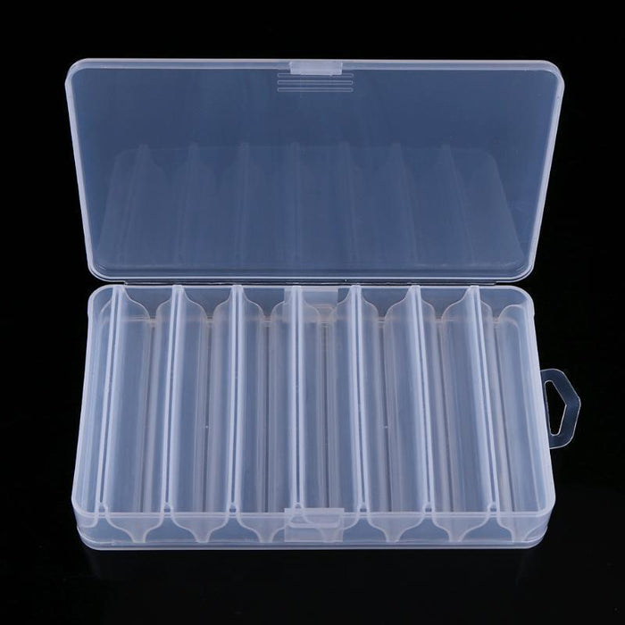 14 Compartments Storage Case Box Transparent Fishing Lure Bait Tackle Boxes Fish-easygoing4-Bargain Bait Box