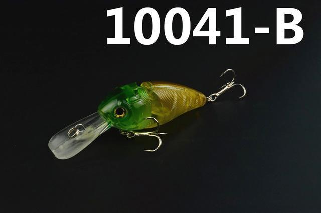 14G 85Mm Minnow 2 Jointed Rock Crank Bait Bass Treble Hook Swing Lure Baits S-Hard Swimbaits-Bargain Bait Box-10041 B-Bargain Bait Box