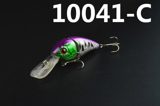 14G 85Mm Minnow 2 Jointed Rock Crank Bait Bass Treble Hook Swing Lure Baits S-Hard Swimbaits-Bargain Bait Box-10041 C-Bargain Bait Box