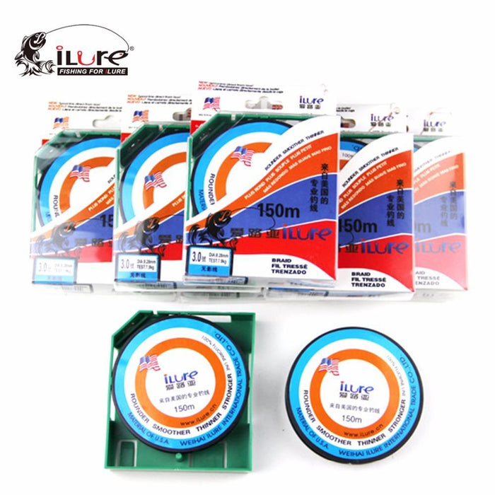 150M Fluorocarbon Line Transparent Carp Wire For Winter Ice Fishing Lines-Hepburn's Garden Store-Burgundy-0.4-Bargain Bait Box