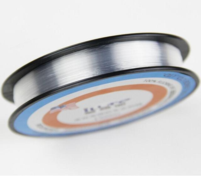 150M Fluorocarbon Line Transparent Carp Wire For Winter Ice Fishing Lines-Hepburn's Garden Store-Clear-0.4-Bargain Bait Box