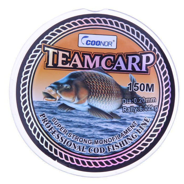 150M Super Soft No Memory Iso Fishing Line Carp Fishing Cod Monofilament Fishing-Rocksport Store-0.2-Bargain Bait Box
