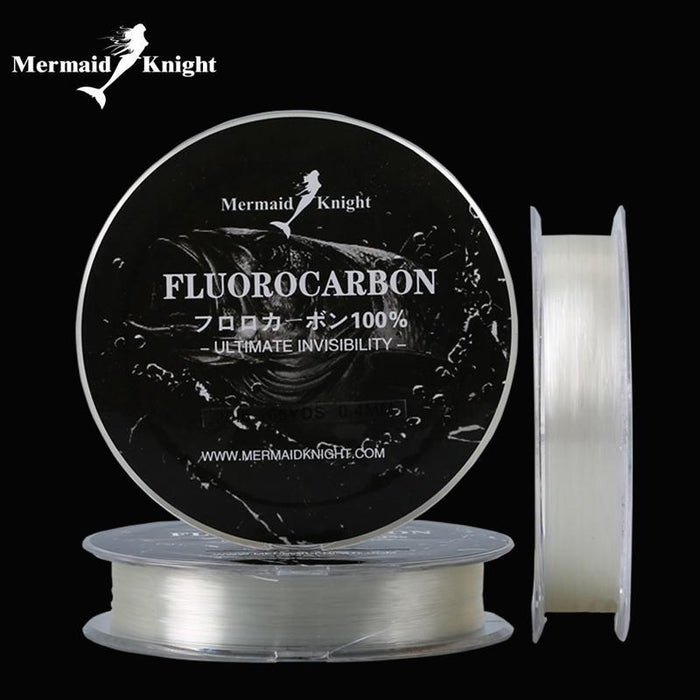 165Yds /150M Carbon Fiber Leader Line Fishing Line 0.16-0.4Mm 100%-MERMAIDKNIGHT Official Store-1.0-Bargain Bait Box