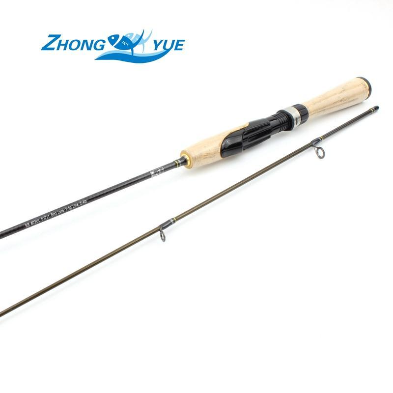 1.8M Ul Lure1-5G Line 2-4Lb Spinning Rod Fishing Rod Pole Carbon Ultra Light-Spinning Rods-Bargain Bait Box-Bargain Bait Box