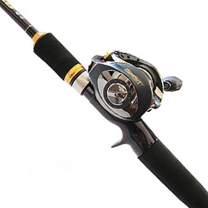 1.98/2.1/2.4M High-Carbon Lure Rod 2 Sections Bait Casting/Spinning Fish Rod 2-Spinning Rods-ZHANG 's Professional lure trade co., LTD-1.98m bait casting-Bargain Bait Box